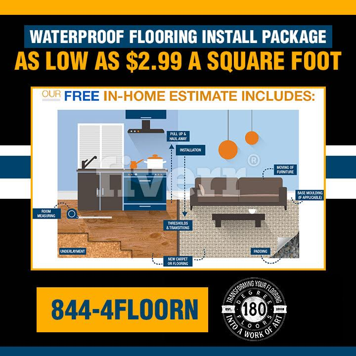 Waterproof Flooring Installation Package